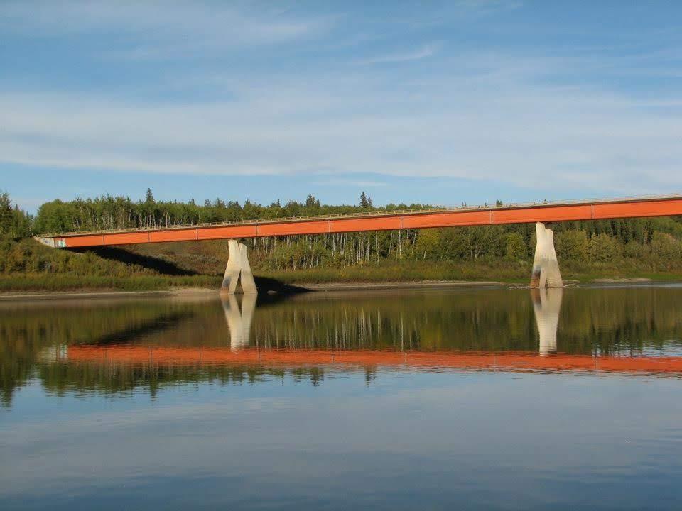 The North side of the Fort Vermilion Bridge. Photo Credit: Marilee Cranna Toews