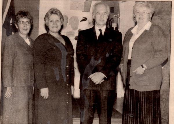 Le 4 novembre 1990 Conseil exécutif élu: Diane Beaulieu,Francine Deschamps, Robert Pelletier,Marielle Fecteau.
