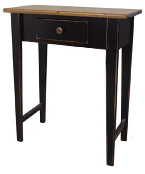 Vintage Black with Classic Stain Top