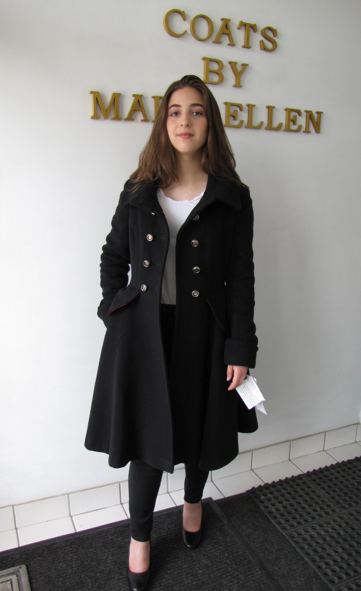 Style # 1892-17 Black Cashmere Wool