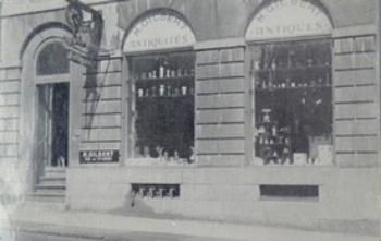 Boutique Méridé et Robert Gilbert, rue St-Louis Vieux-Québec c. 1950