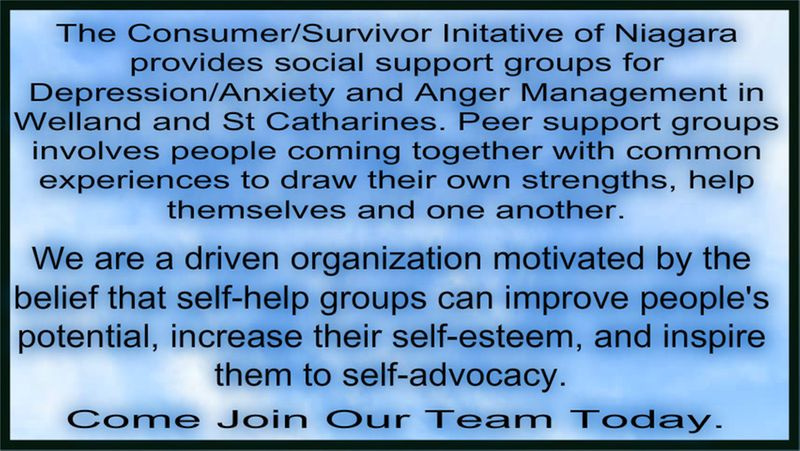 Peer support groups