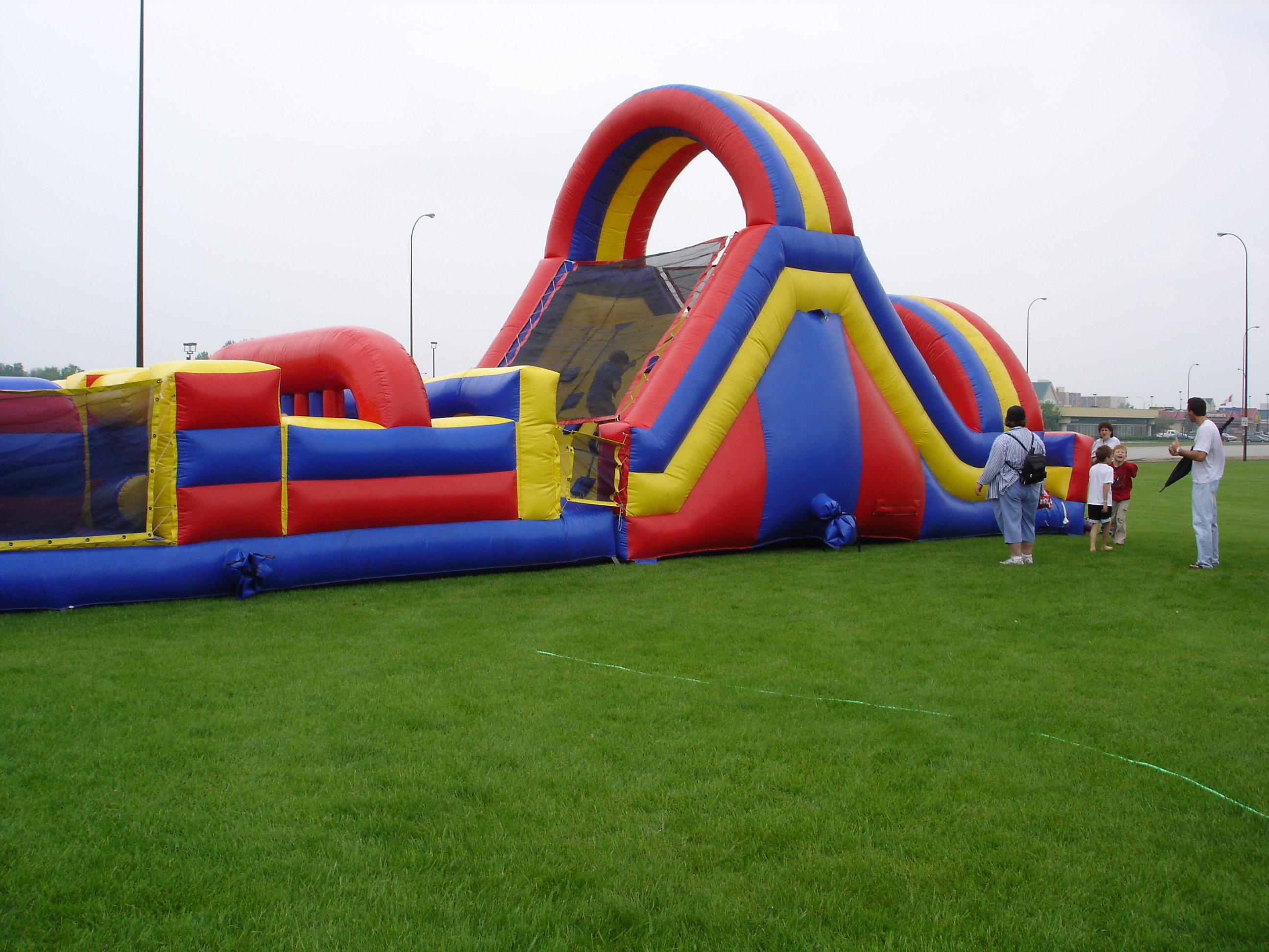 67 ft. Obstacle Course