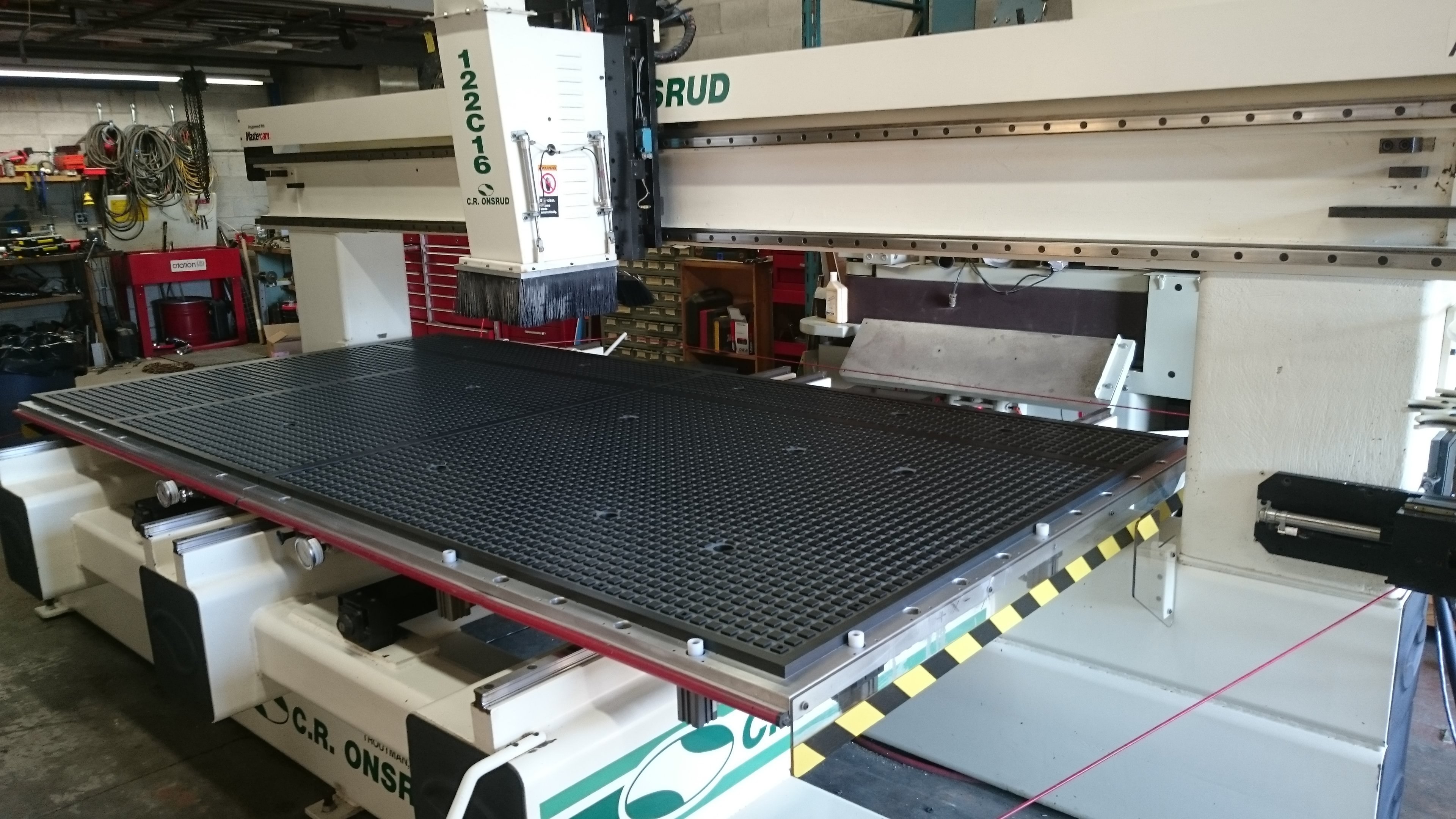 Multiple Zone Vacuum Table