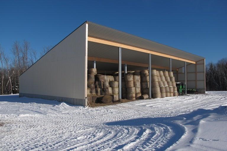 2014 Pembroke - Hay storage shed