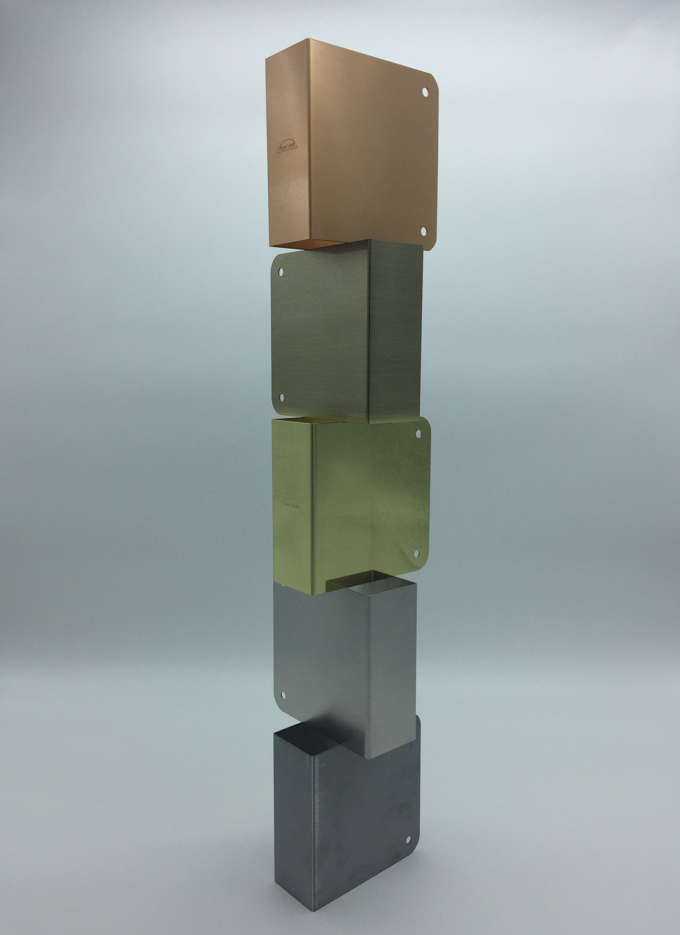 Stacked Blank Wrap Plates