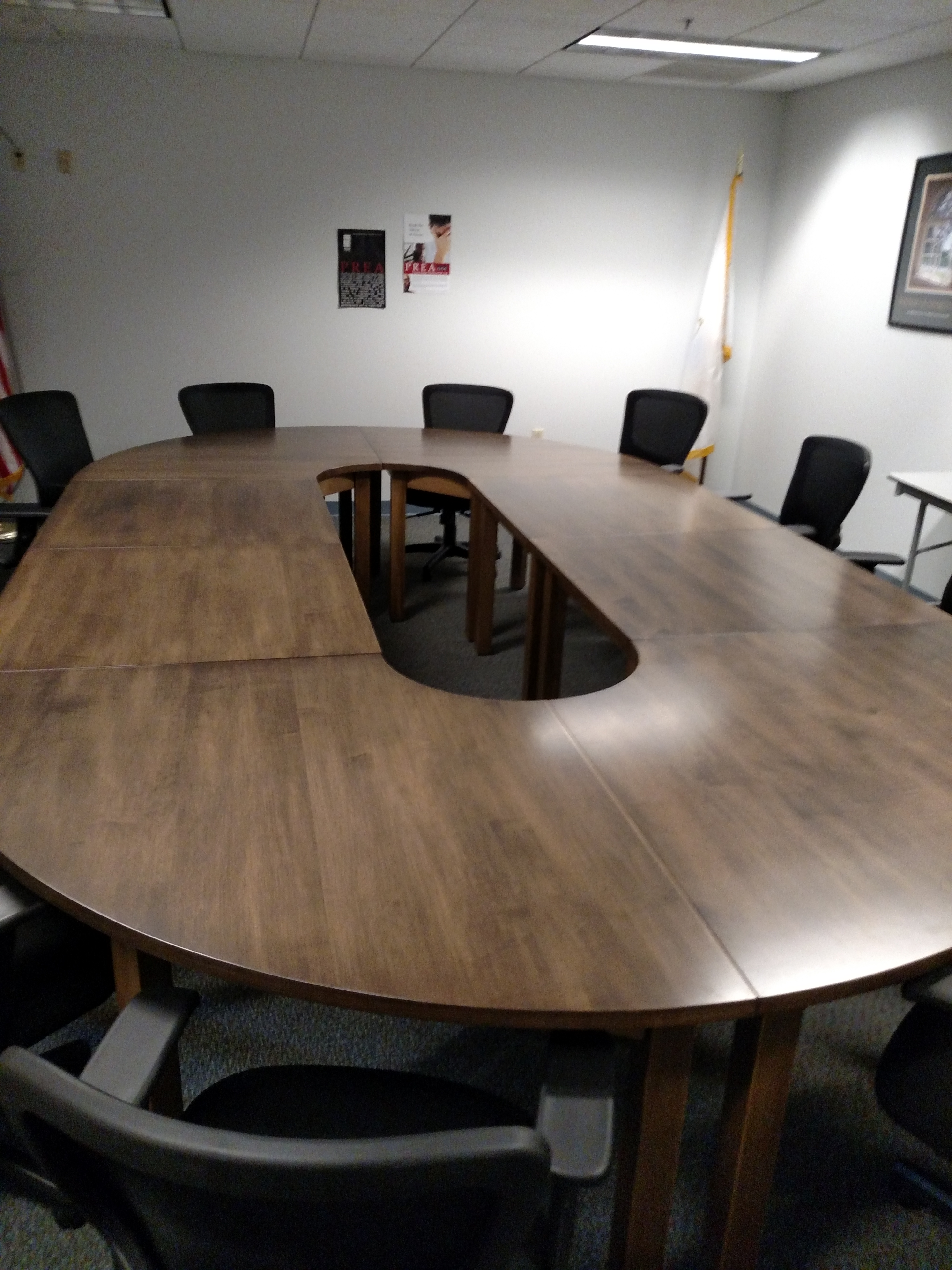 Custom 4 Piece Oval Table