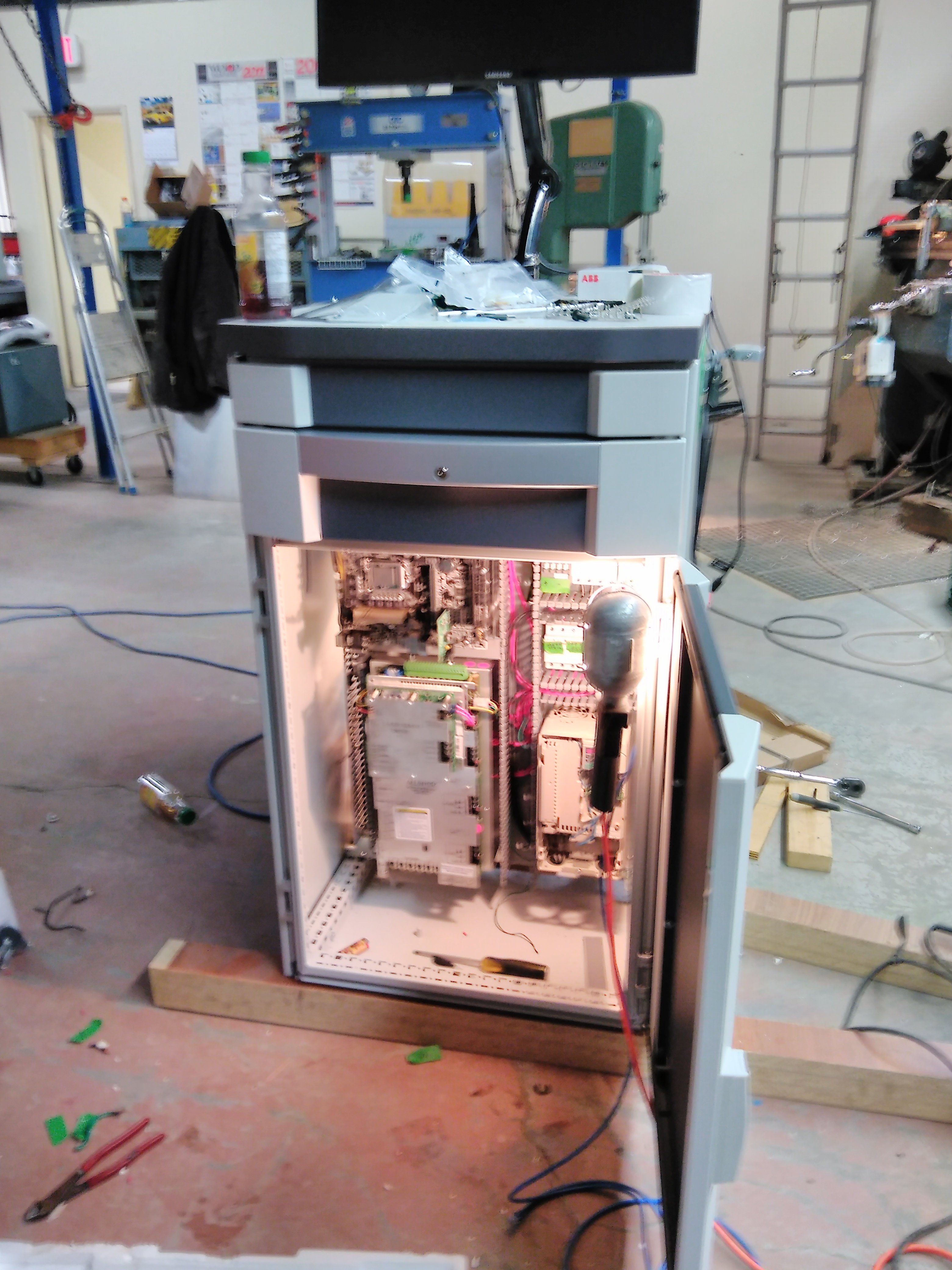 CNC Controller Retrofit