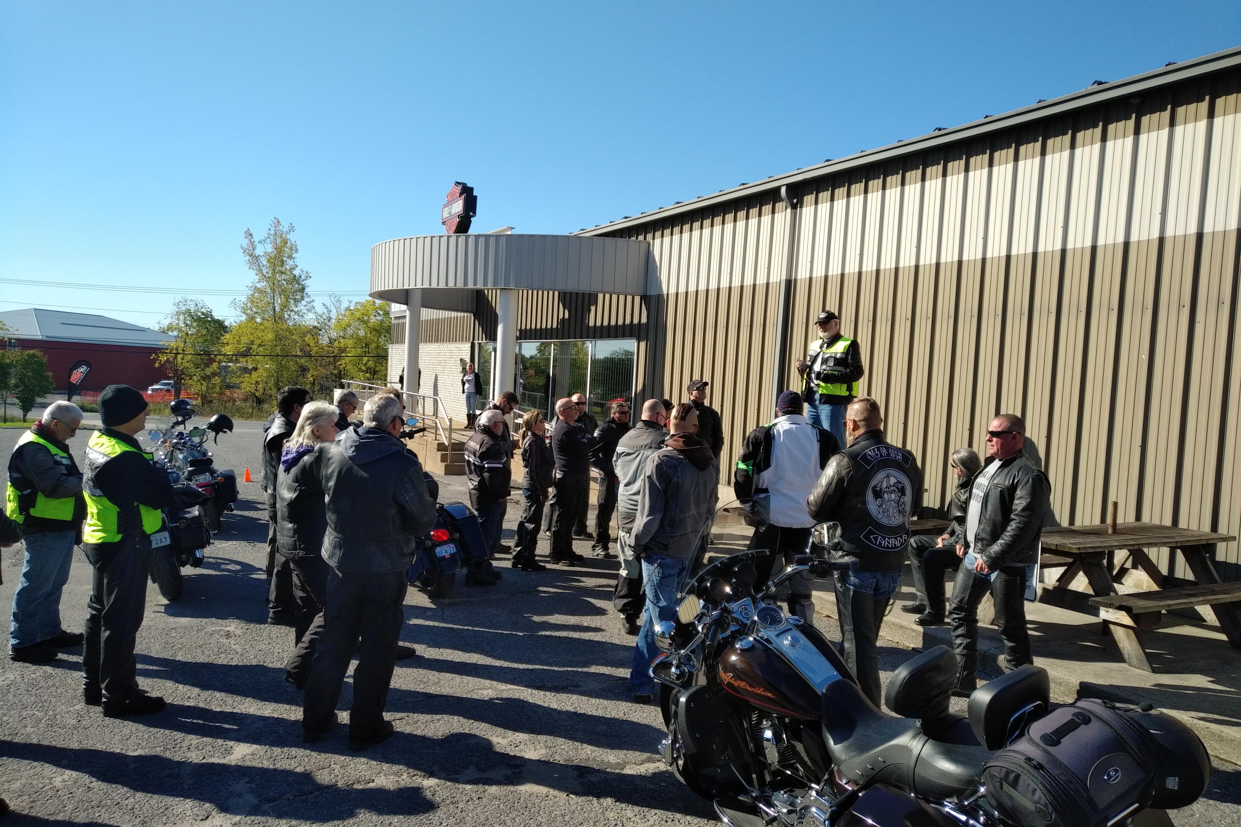 Ride Briefing by Director Clark