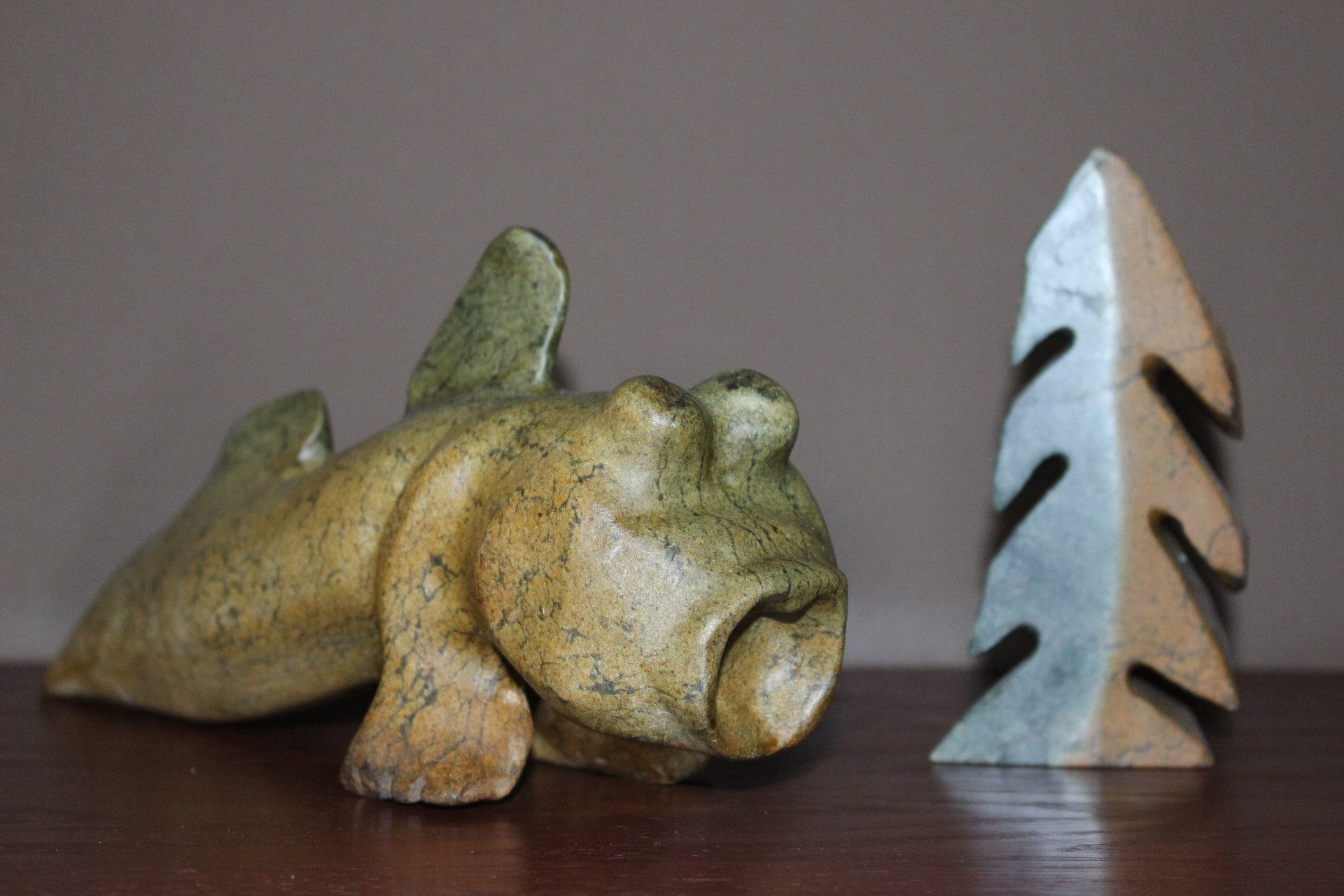 (SOLD) Mudskipper & Tree African Serpentine