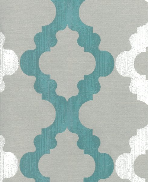 JACQUARD C56 Composition / Content: 100% Polyester rep. vert. 7 ½'' rep hor. 13 ¾''