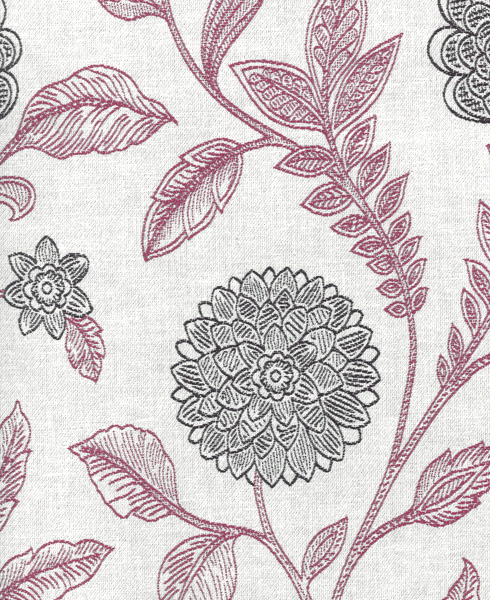 JACQUARD C62 Composition / Content: 82% Polyester - 18% Cot(t)on rep. vert. 21 ½'' rep hor. 13 ¾''