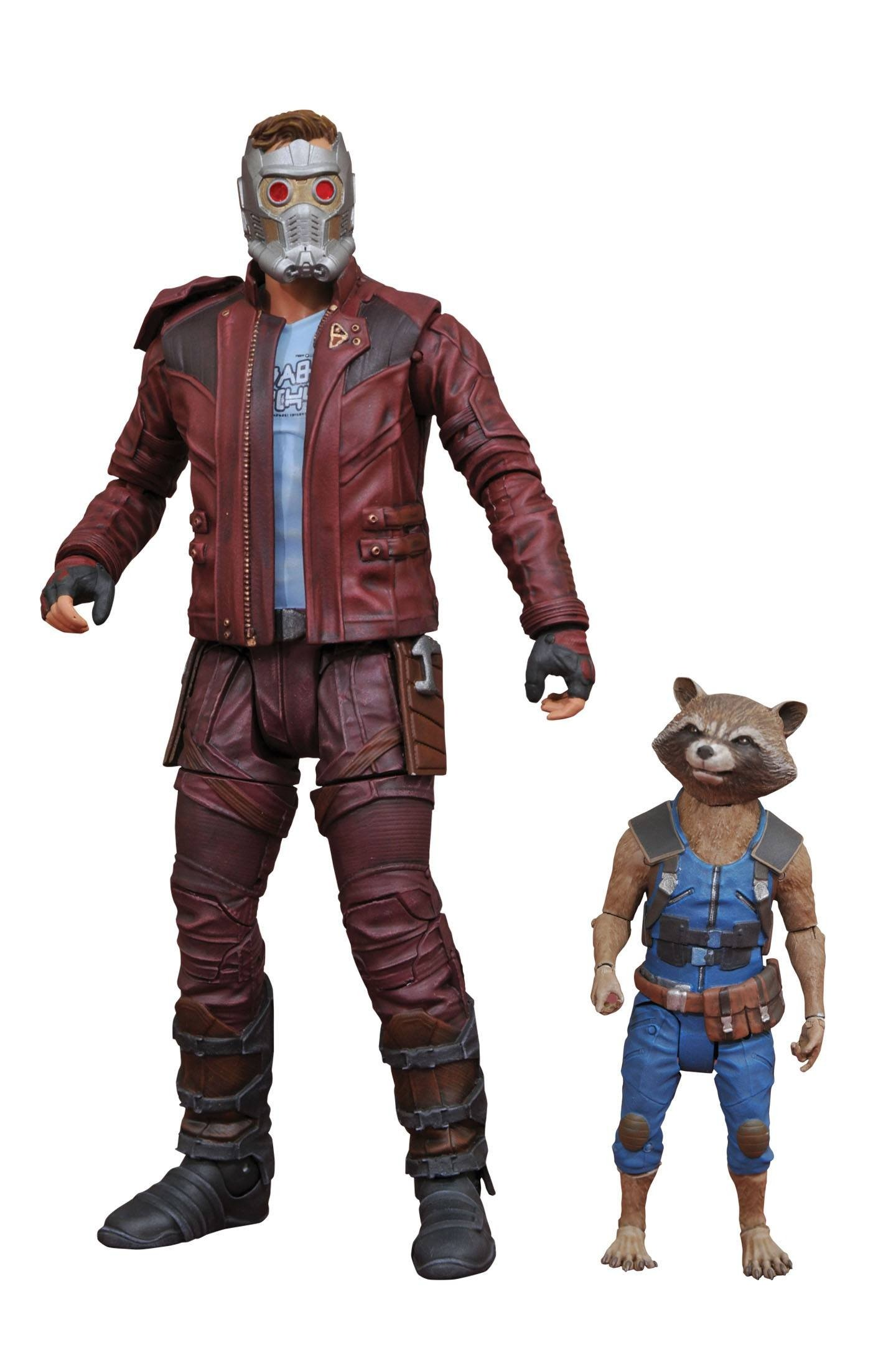 MARVEL SELECT GOTG 2 STAR-LORD & ROCKET AF