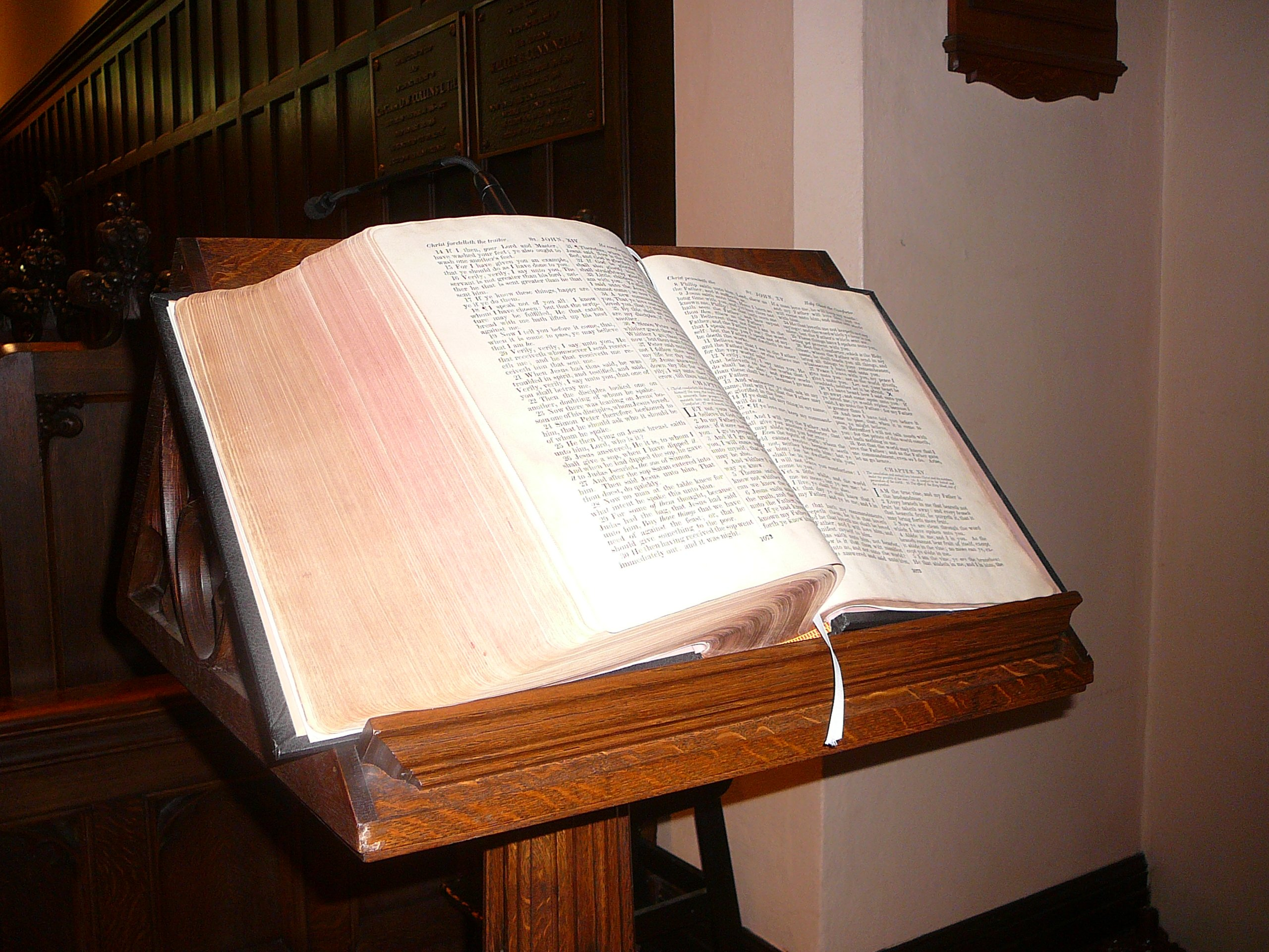 Chancel Bible