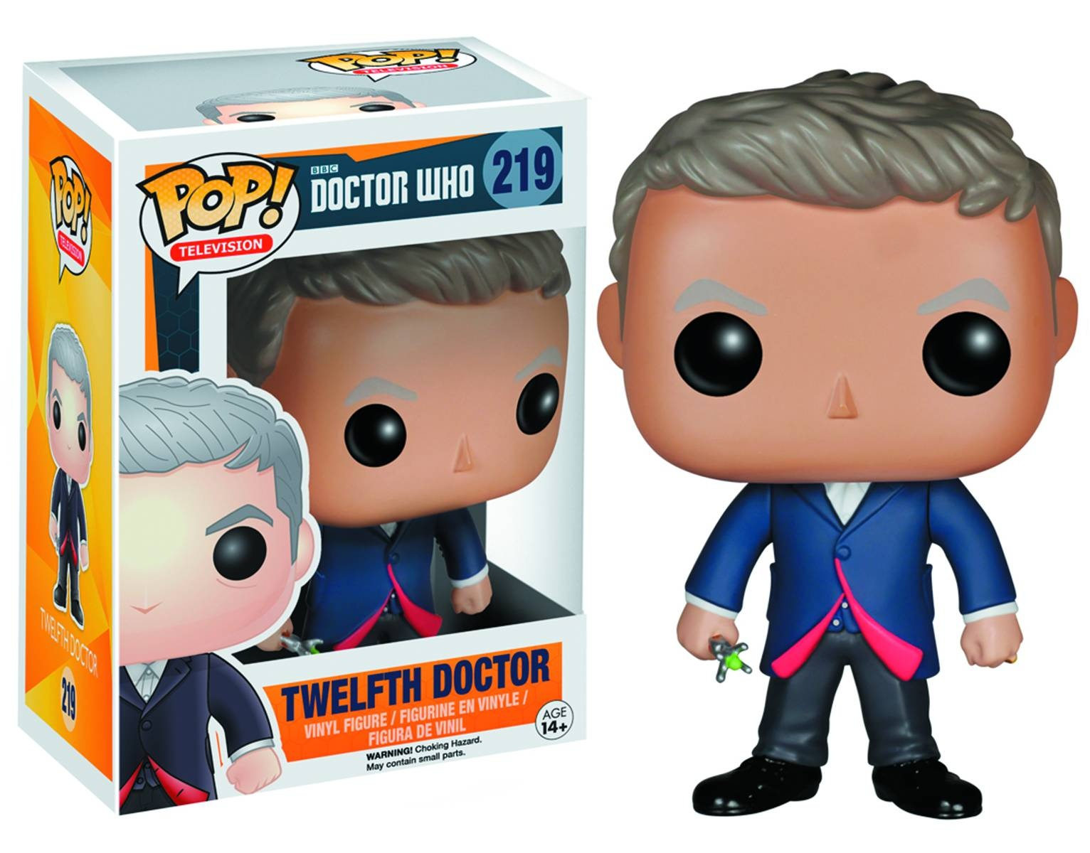 POP DOCTOR WHO 12TH DOCTOR VINYL FIG