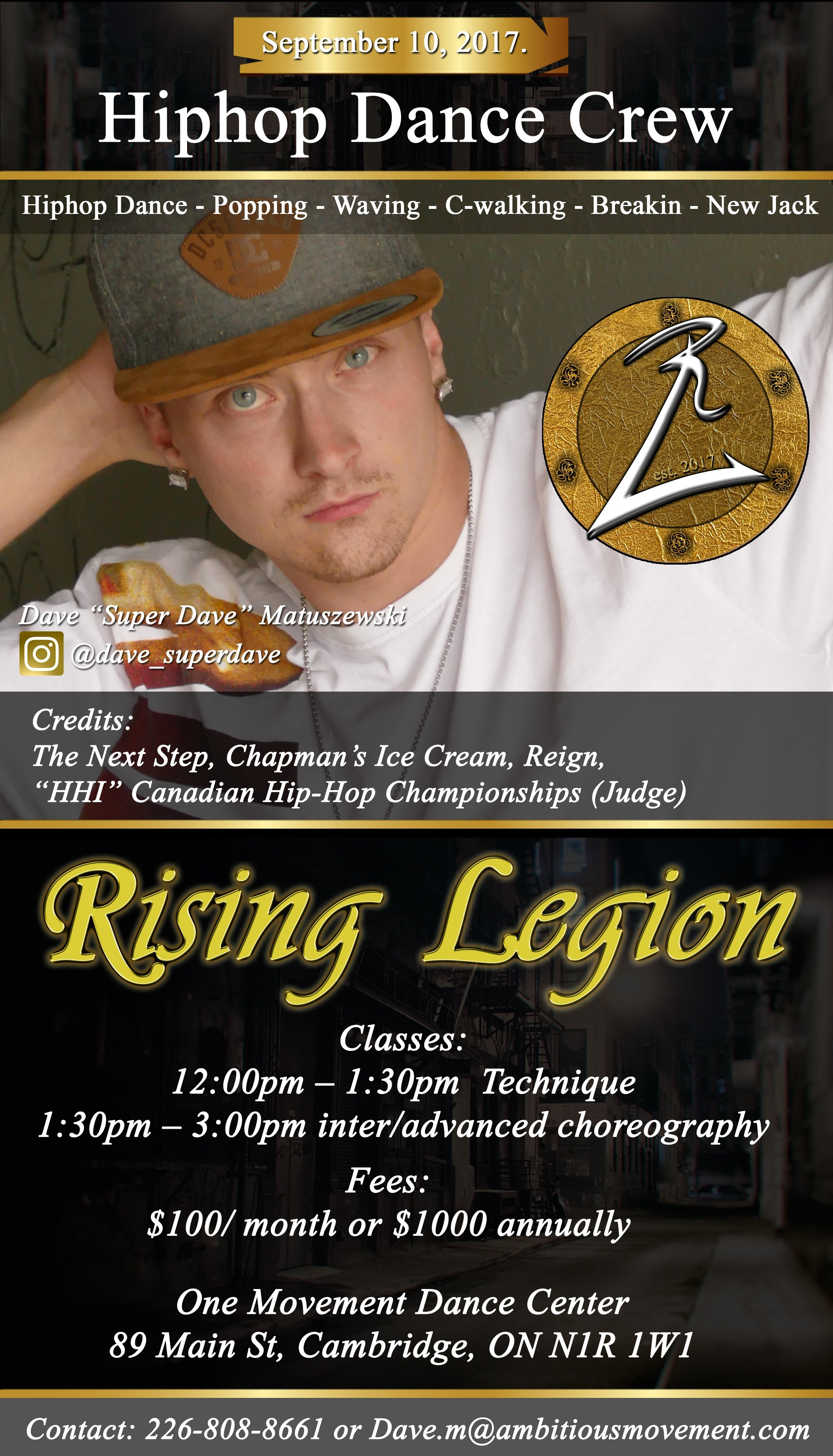 ONE Movement - Rising Legion Hip Hop Dance Crew with