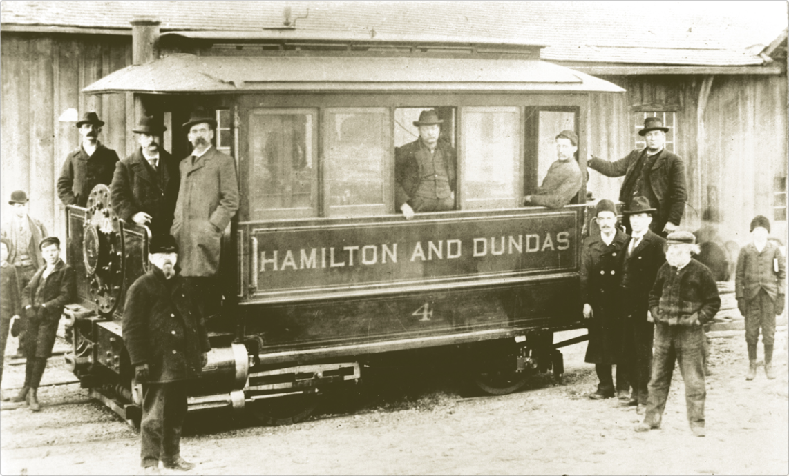 """The Dummy"" Trolly to Hamilton"
