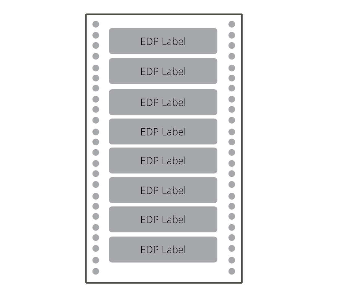 EDP or computer labels