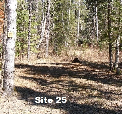 Site 25 - Tent Site - No Services