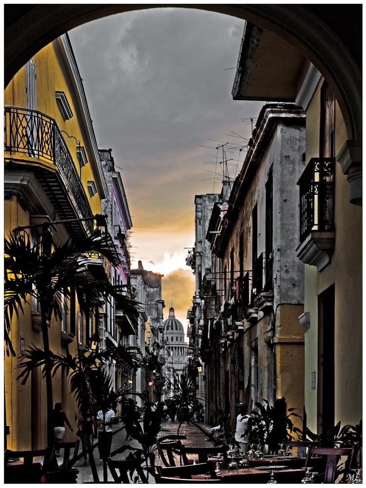 Vue du Capitole Havane - Mars 2011