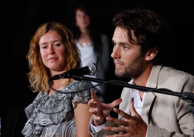 Présentation de  Philippe-A Lehoux,  cofondateur et  président du C.A. du  Bivouac urbain, lors  de la Conférence de  presse sur le Bivouac  urbain  Québec 5  juillet 2011 11 TlX1476