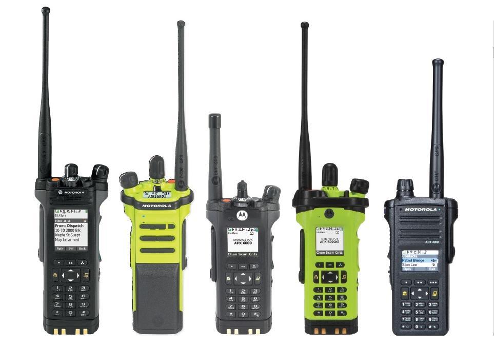 Motorola APX Series Portables