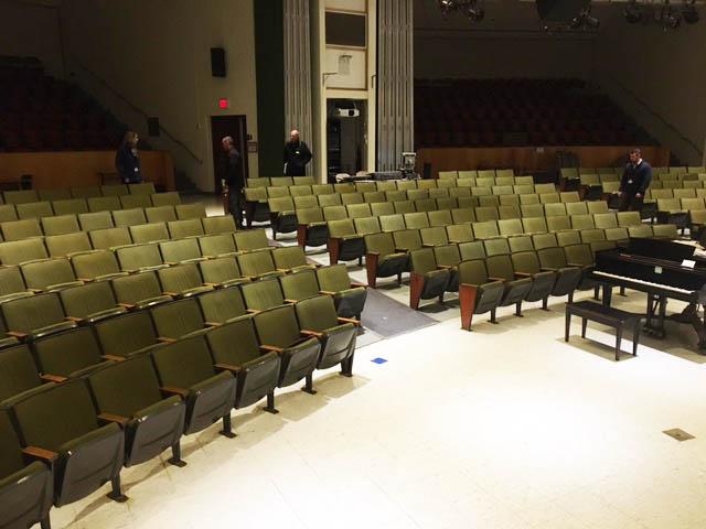 Auditorium Upholstery