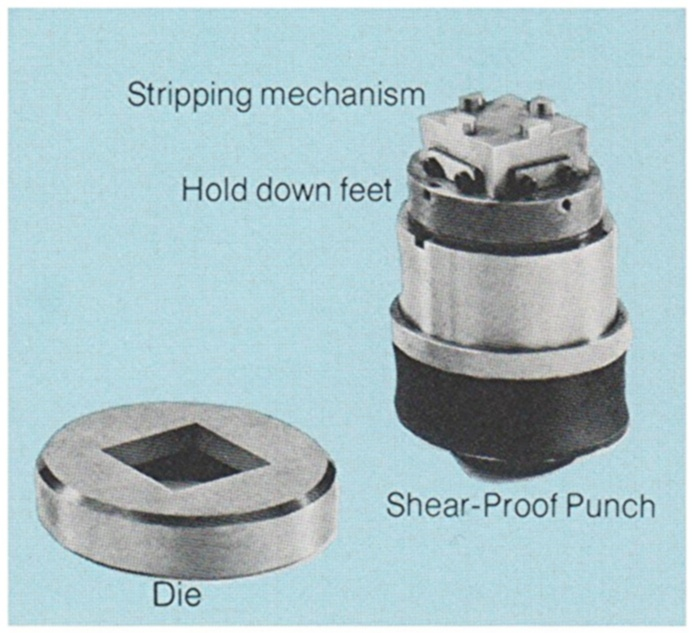 Punch Assembly with Shear Proof Punch and Stripper