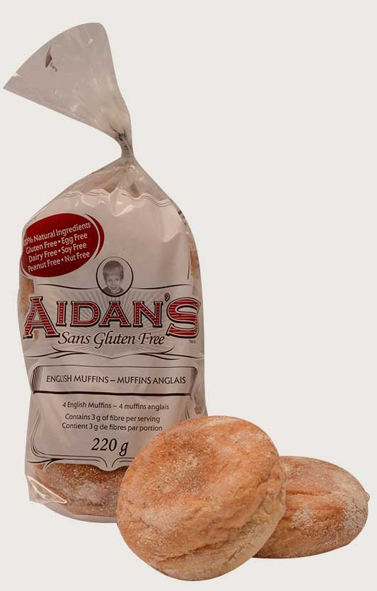 Aidan's Gluten-Free English Muffins
