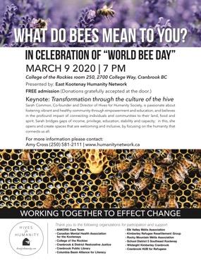 "Celebration of ""World Bee Day"""