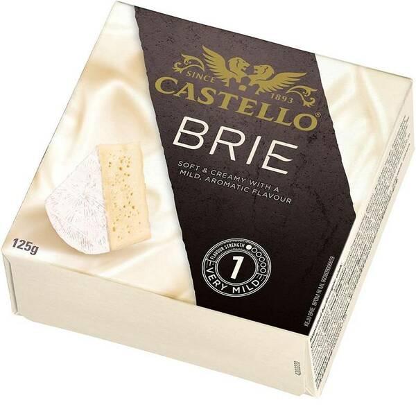 BR125 Castello Rosenborg Danish brie cheese 125 gr