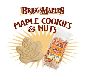 Maple Cookies & Nuts