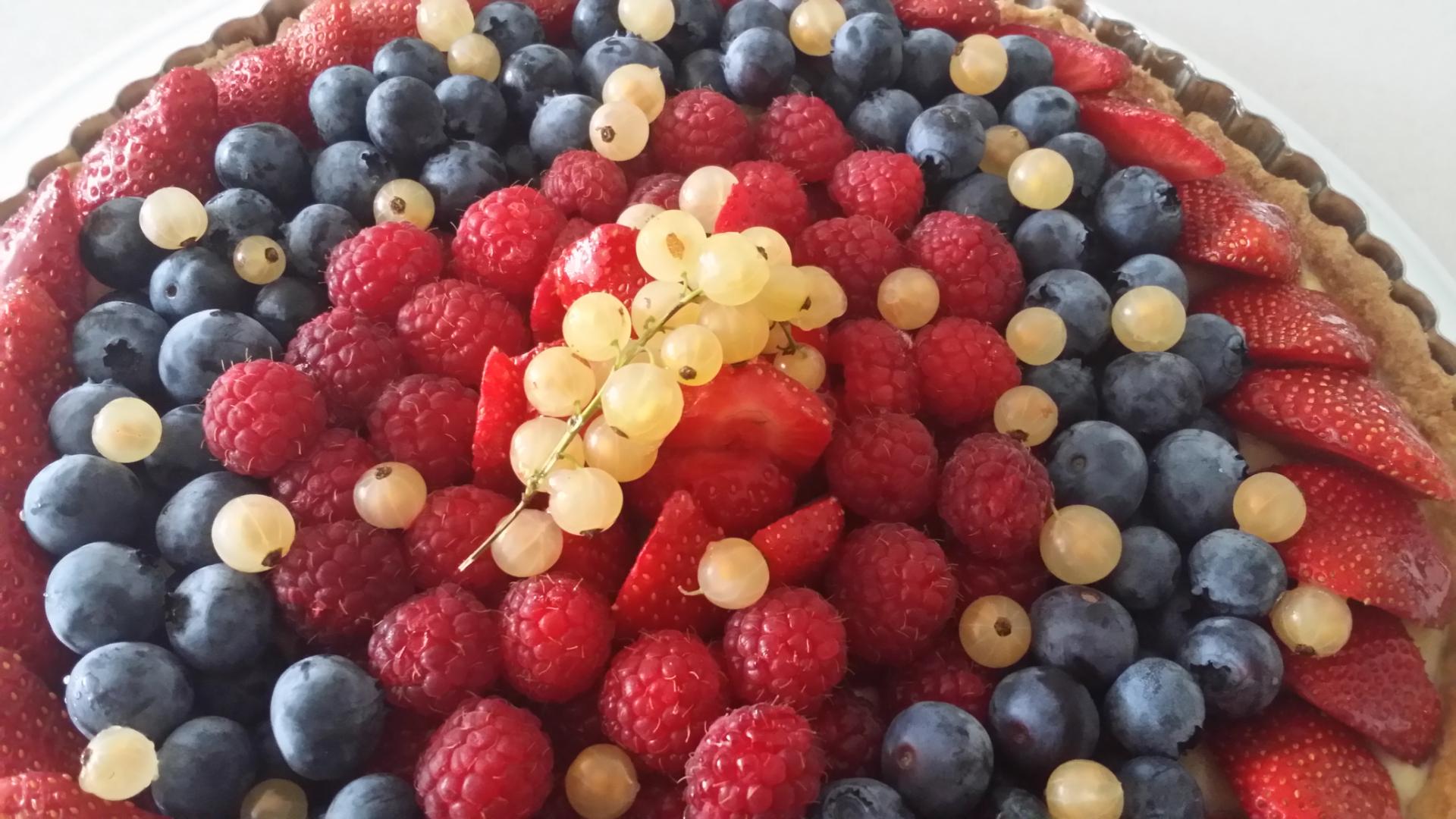Tarte petits fruits