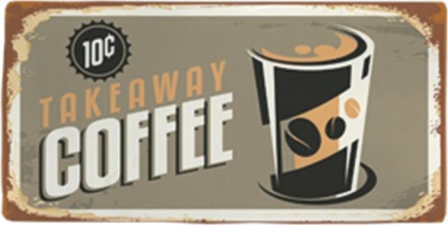 "Decor Coffee 3"" x 6"""
