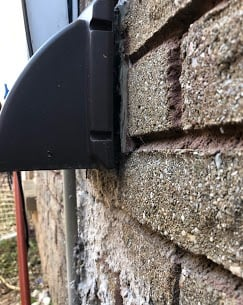 Cold Weather is coming ensure your outside vents are sealed tight.
