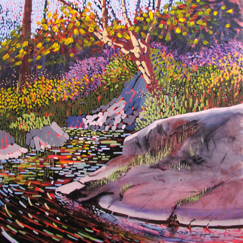 Eel's Creek Acrylic