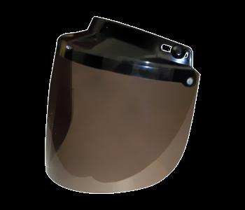 Écran adaptable sur casque Jet Se fixe par 3 pressions ajustables Relevable Couleur fumé Prix: 34.79$