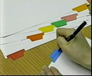 Colour Tape for Index Tabbing