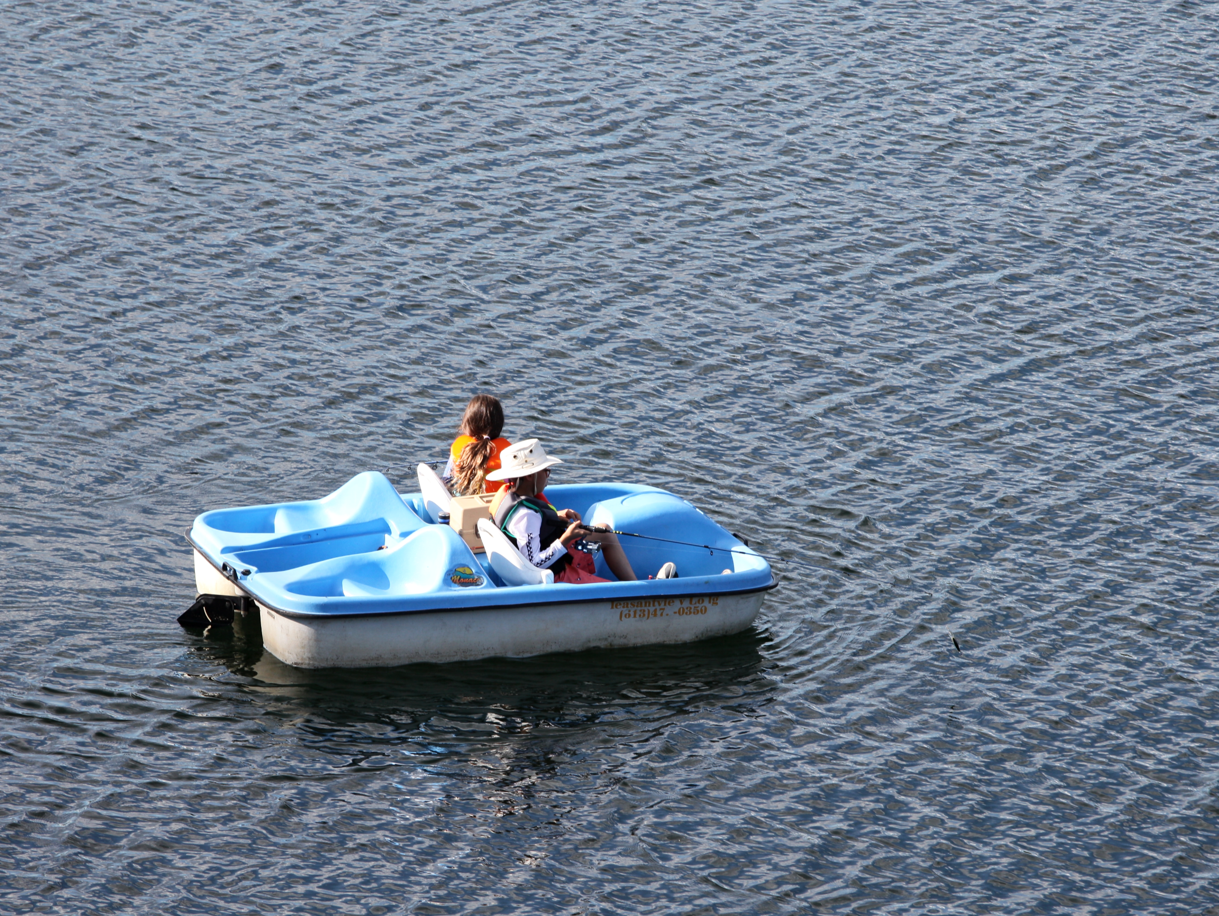 Paddle boat, pedal boat