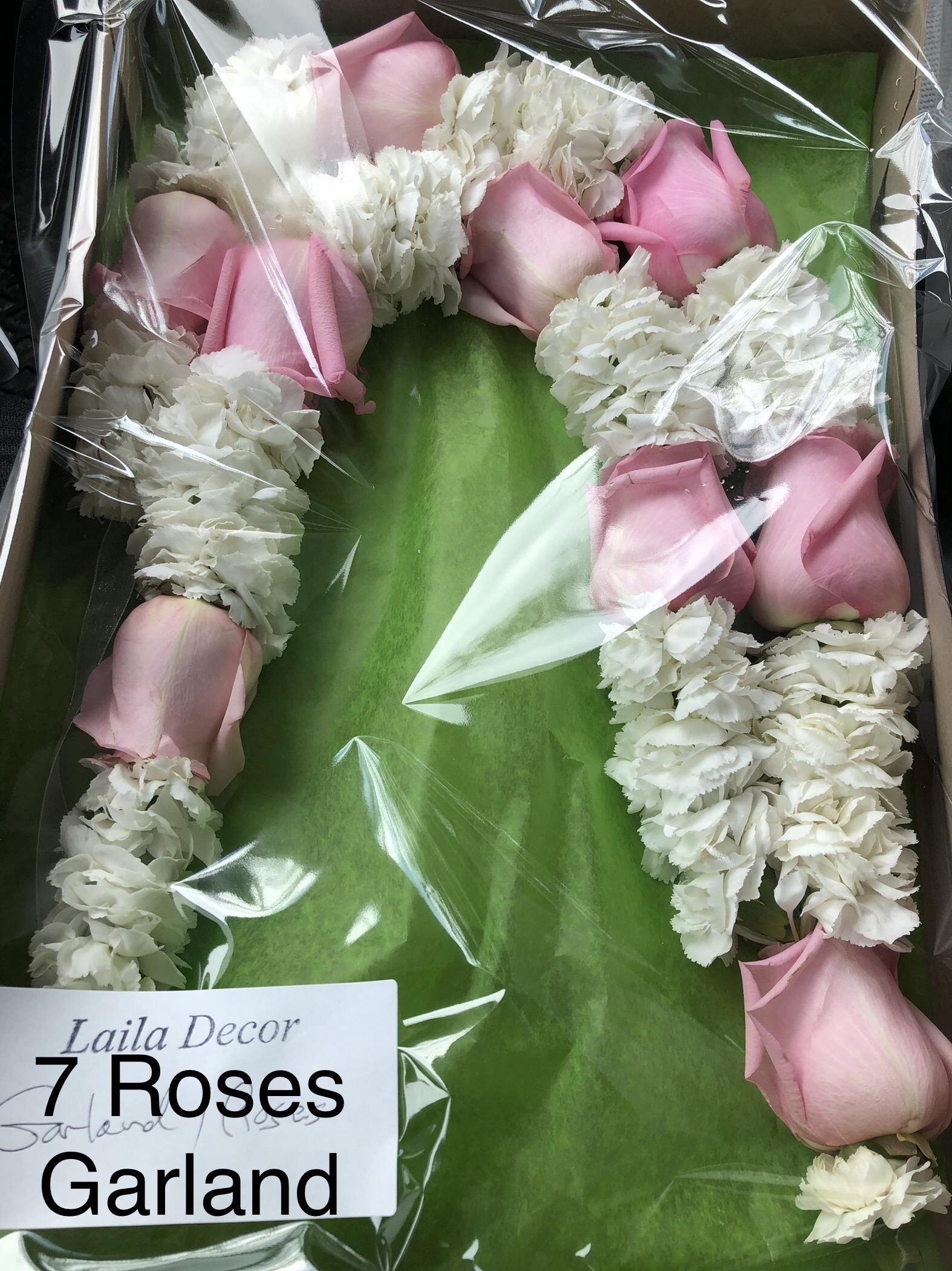 7 ROSES GARLAND
