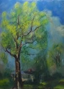 "Kate's Tree 2020-005-0422 23"" x 31"" oil on linen"