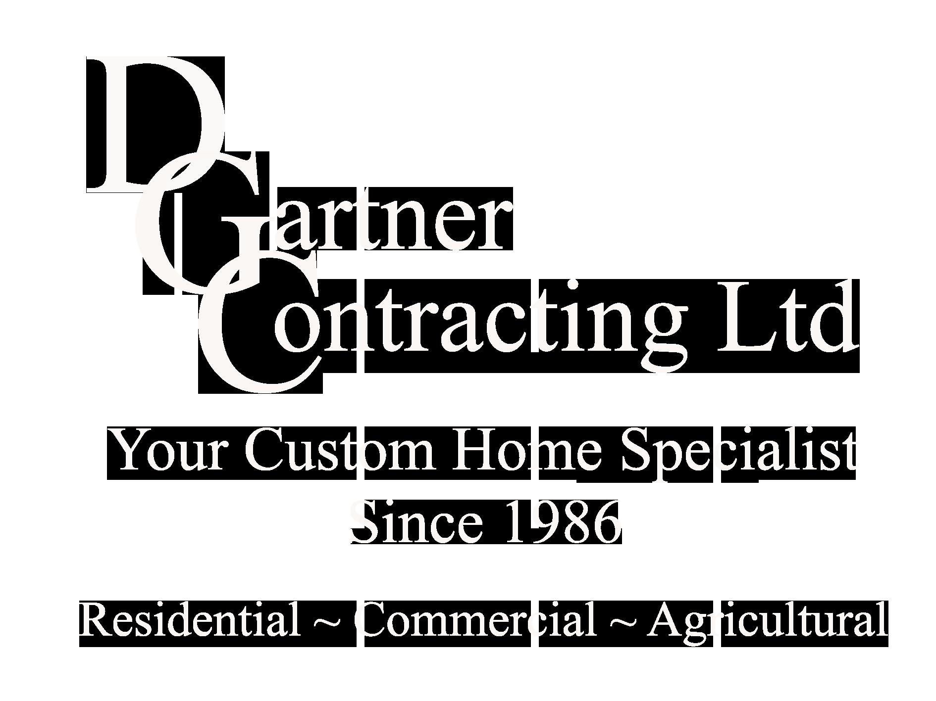 D. Gartner Contracting Ltd