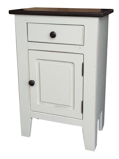 Antique White with Cola Top