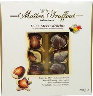 MT250 Maitre Troffout Belgian seashells 250 gr