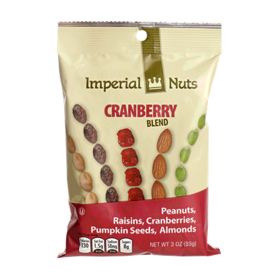 NUT85CR Imperial Nuts Cranberry Blend 85 gr.