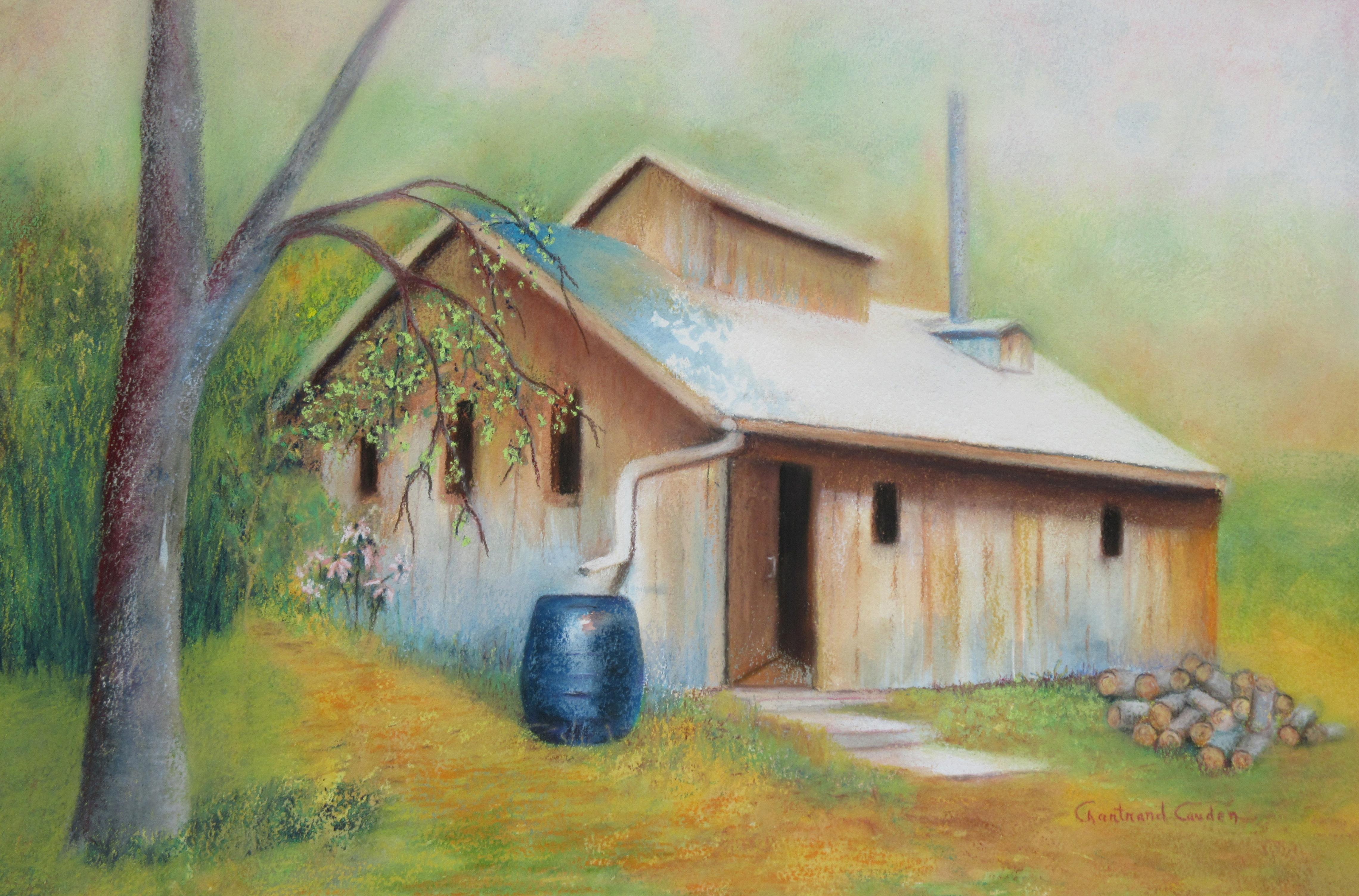 """La cabane à sucre Pastel 14"""" x 21"""""""