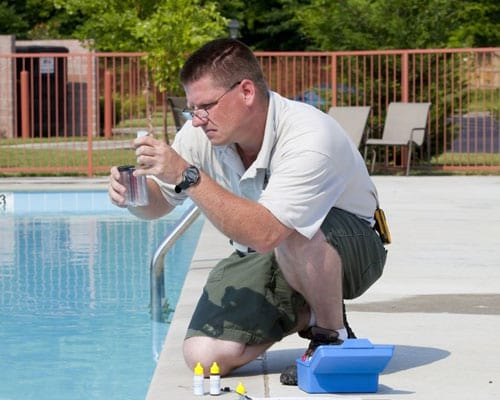 Active Pool Chemical Testing