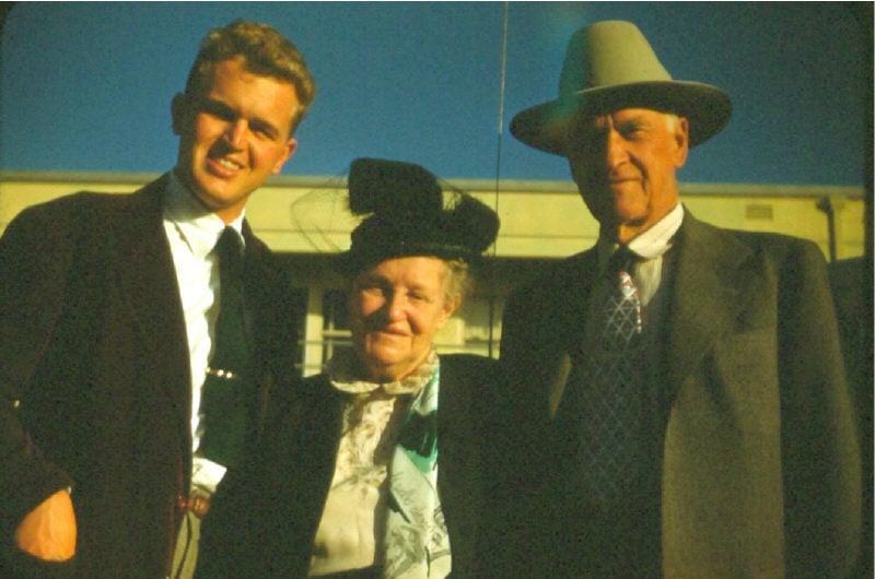 Visit to California - Robert jr, CWCS and Pop