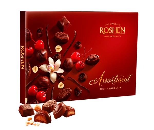 RSHN154MK Roshen Assortment - Milk Chocolate 154 gr