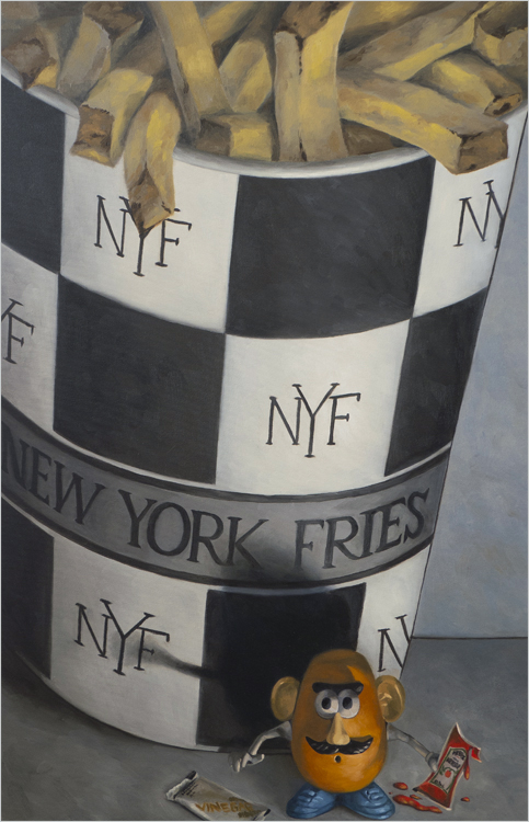 "Small Fry 24"" x 30"" oil on canvas"